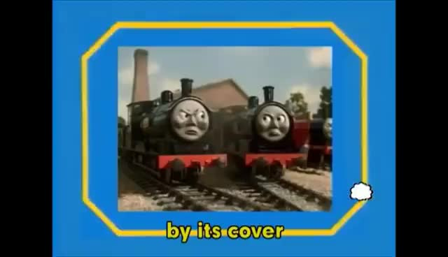 Don't Judge A Book By Its Cover | Thomas & Friends GIFs
