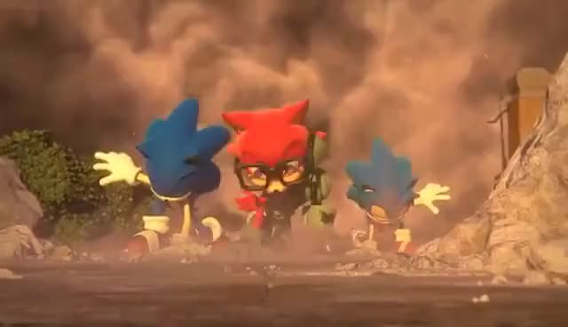 Watch and share Sonic Forces: Custom Hero Trailer GIFs on Gfycat