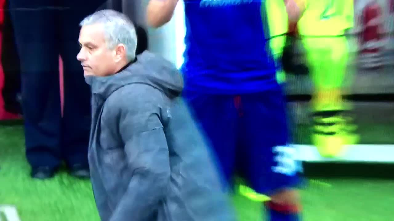 reddevils, Mourinho Celebration vs 'Boro GIFs
