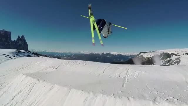 Watch and share GoPro HERO4 - Skiing The Weekend 2 GIFs on Gfycat