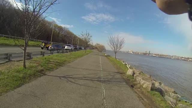 Watch and share Good Feeling On The West Side Highway - NYC GIFs by midasisking on Gfycat