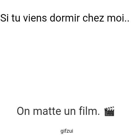 Watch and share Si Tu Viens Dormir Chez Moi.. GIFs on Gfycat