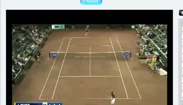 Watch this trending GIF on Gfycat. Discover more tennis GIFs on Gfycat