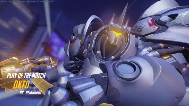 Watch and share Overwatch GIFs and Reinhardt GIFs by Okto on Gfycat