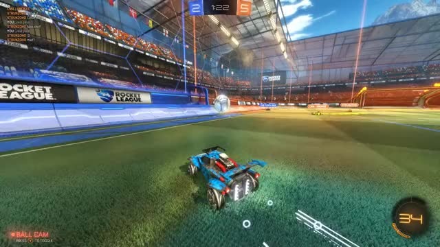 Watch and share Rocket League GIFs by temp on Gfycat