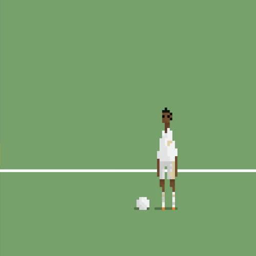 Watch and share Gif Football Brazil Soccer Artists On Tumblr World Cup 8 Bit Hyundai BecauseFutbol _GIF GIFs on Gfycat