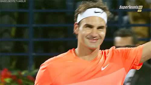 Watch Basel Boys GIF on Gfycat. Discover more dubai, dubai2015, my edits, roger federer, tennis, you're so cute GIFs on Gfycat