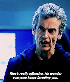Watch and share Last Christmas GIFs and Twelfth Doctor GIFs on Gfycat
