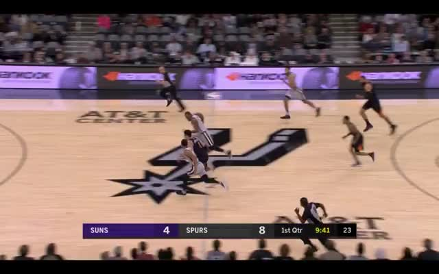 Watch this trending GIF by @louiszatzman on Gfycat. Discover more Phoenix Suns, San Antonio Spurs, basketball GIFs on Gfycat