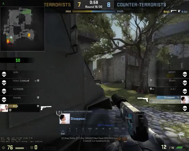 Watch and share 1 Tap Wallbang (Cobble) GIFs on Gfycat