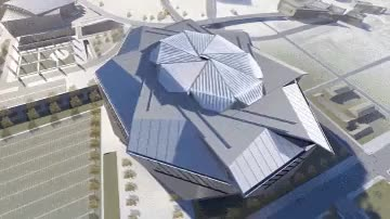 Watch and share New Falcons Stadium Animation : Atlanta GIFs on Gfycat