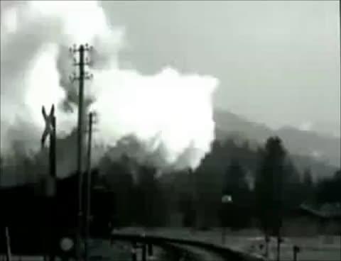 Watch and share Seltene WW2 Filmaufnahmen Der Wehrmacht Teil 9 - Eisenbahn Im Kriegseinsatz GIFs on Gfycat