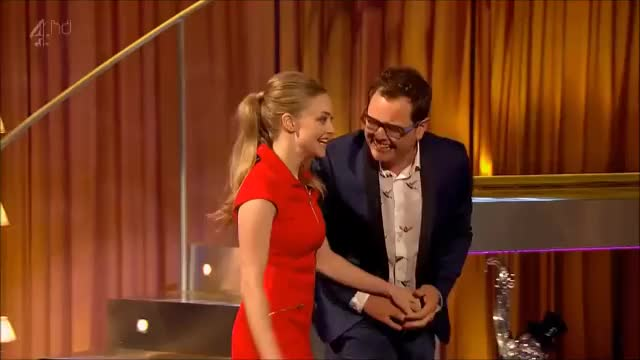 Watch and share Amanda Seyfried - Alan Carr Chatty Man @ TopCelebStuff GIFs by smoopy on Gfycat
