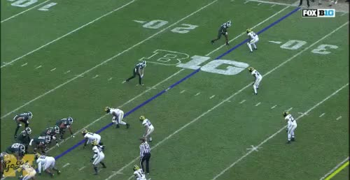 Watch and share Michigan State GIFs and David Long GIFs by MGoBlog on Gfycat