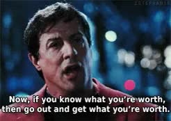 Watch and share Rocky Balboa Speech GIFs and Sylvester Stallone GIFs on Gfycat