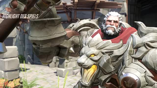 Watch and share Overwatch GIFs and Reinhardt GIFs by frederisch on Gfycat