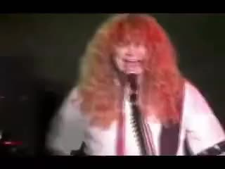 Watch Dave Mustaine fail in symphony of destruction (megadeth) GIF on Gfycat. Discover more HAHA! GIFs on Gfycat