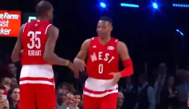 Watch Kevin Durant and Russell Westbrook Dance GIF on Gfycat. Discover more KD, NBA, RW GIFs on Gfycat
