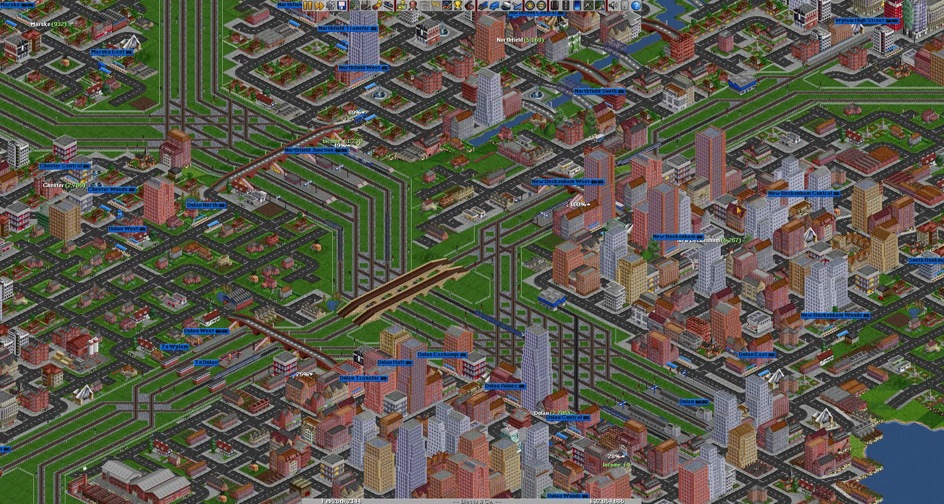 gaming, openttd, simulation,  GIFs