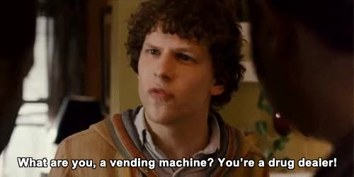 Watch and share Jesse Eisenberg GIFs and Drugs GIFs on Gfycat