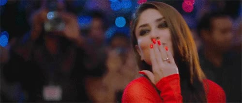 Watch and share Blow Kiss GIFs and Bollywood GIFs on Gfycat