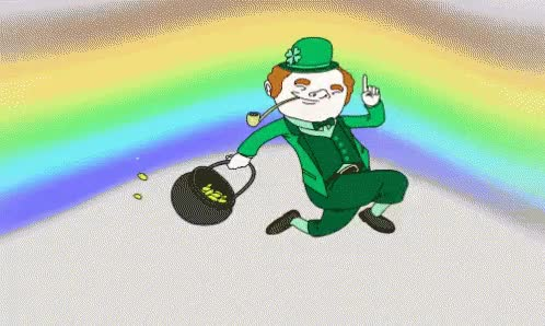 Watch and share Pot Of Gold GIFs on Gfycat