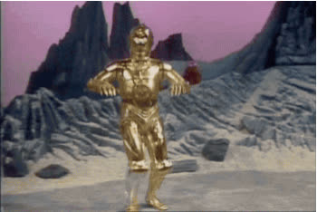 c3p0, dance, excited, happy, joy, star wars, C-3PO Happy Dance GIFs