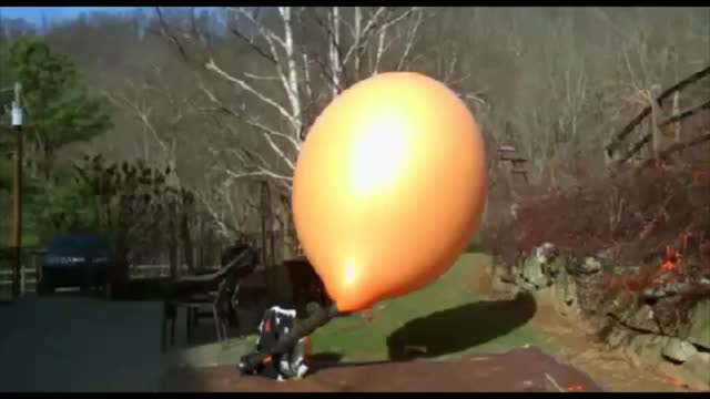 Watch and share Giant Balloon Slowmo Pop GIFs by blyatmanurod on Gfycat