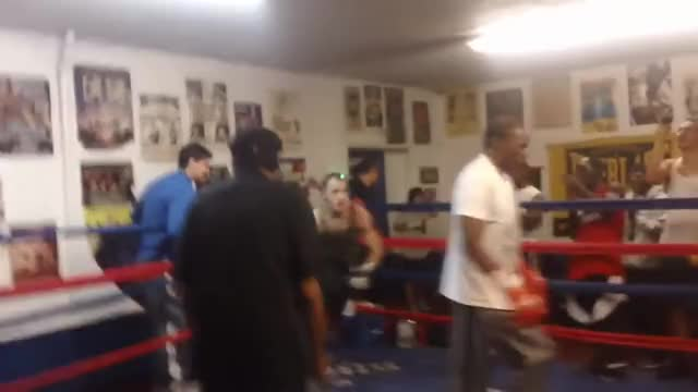 Watch Floyd Mayweather Sr Sucker Punched While Sparring with Charlie Zelenoff GIF on Gfycat. Discover more floyd mayweather, floyd mayweather senior, floyd mayweather sr GIFs on Gfycat