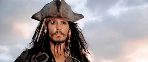 Watch and share Jack Sparrow GIFs and Johnny Depp GIFs on Gfycat