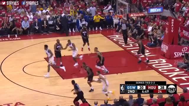 3e1f017b801 Watch Golden State Warriors vs Houston Rockets Full Game Highlights   Game  5   2018 NBA