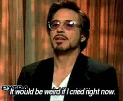 Watch Robert Downey Goofball (x). GIF on Gfycat. Discover more related GIFs on Gfycat