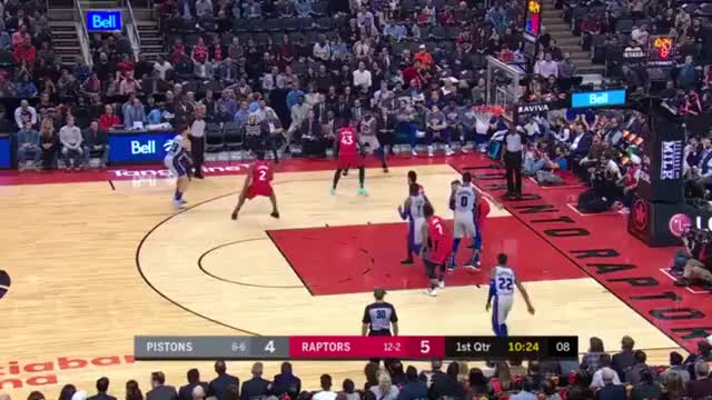 Watch and share Detroit Pistons GIFs and Toronto Raptors GIFs by Mike Snyder on Gfycat