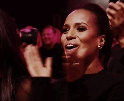 applause, clap, clapping, kerry washington, respect, slow clap, Kerry Washington Slow Clap GIFs