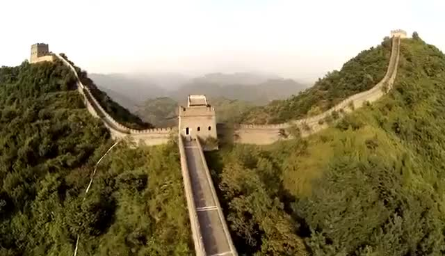 Watch and share The Great Wall Of China - UAV Aerial Footage GIFs on Gfycat
