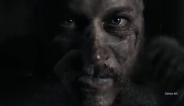 Watch and share Ragnar Lothbrok Don't Be Afraid GIFs on Gfycat