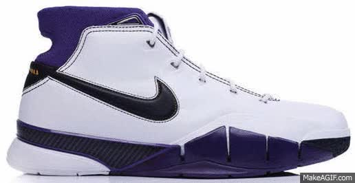 Watch and share Kobe Bryant Nike Shoes GIFs on Gfycat