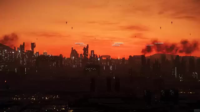 Watch and share Sunrise Over Lorville GIFs on Gfycat