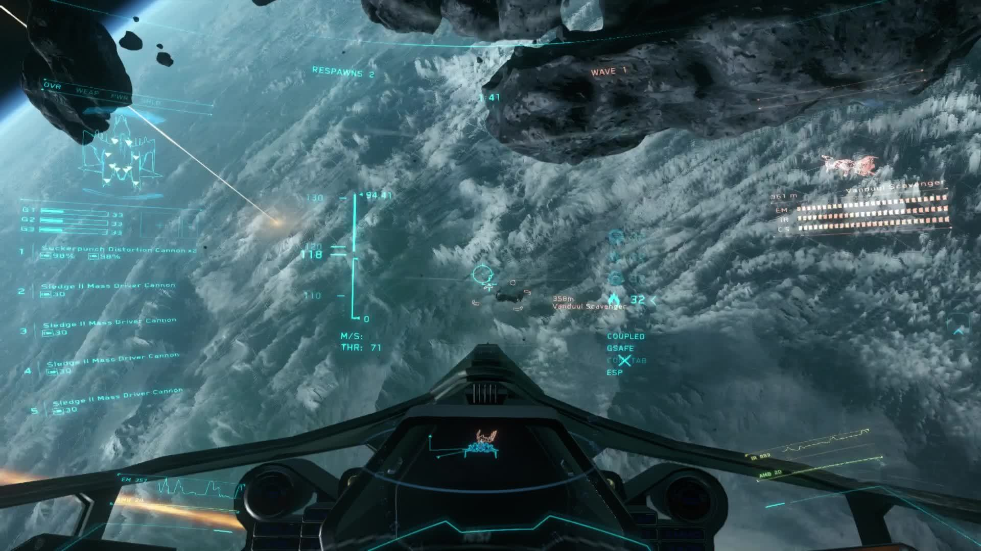 starcitizen, Star Citizen Mass Drivers GIFs