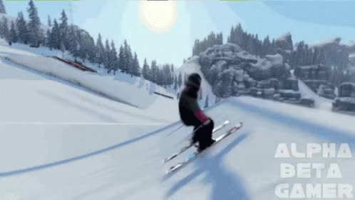 Watch and share Snowboard Ski Game GIFs on Gfycat