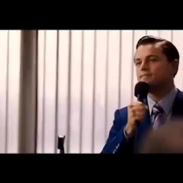 Watch and share I'm Not Leaving - The Wolf Of Wall Street GIFs on Gfycat