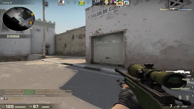 Watch how GIF by Hebr0n (@hebr0n) on Gfycat. Discover more aim, counterstrike, csgo, global, moments, nice, offensive, silver, wtf GIFs on Gfycat