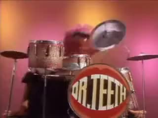 Watch 'Animal' On The Drums 1977 GIF on Gfycat. Discover more 1977, Animal, Muppets GIFs on Gfycat