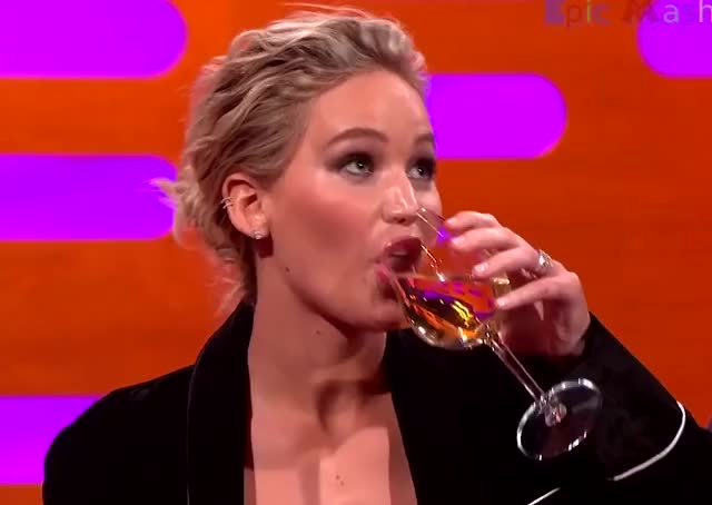 Watch this drunk GIF by The GIF Forge (@leahstark) on Gfycat. Discover more Cheers, Drinking, Drunk, Jennifer Lawrence GIFs on Gfycat