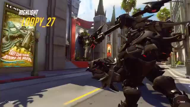Watch and share Overwatch GIFs by loopy27 on Gfycat