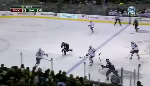 Watch and share Antoine Roussel GIFs and Dallas Stars GIFs on Gfycat