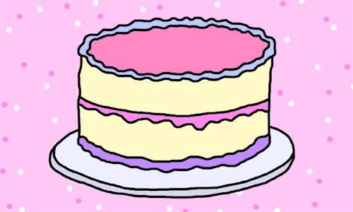 Watch this cake GIF by GIF Queen (@ioanna) on Gfycat. Discover more adios, bye, cake, cu, dessert, farewell, food, goodbye, pink, see, you GIFs on Gfycat