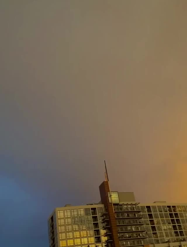 Watch and share CHICAGO Sunset Thunderstorm GIFs by Anandymous on Gfycat