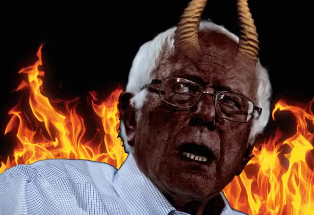 Watch this trending GIF by I Must Be Dead (@imustbedead) on Gfycat. Discover more bernie, bernie sanders, devil GIFs on Gfycat