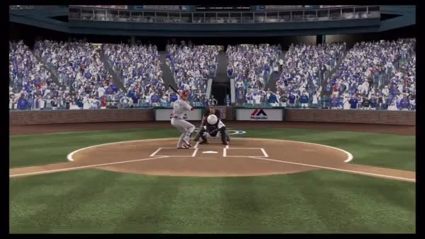 Watch You get paid millions to catch the ball, and you couldn't even do that??? [MLB 14 The Show] (reddit) GIF on Gfycat. Discover more gamephysics GIFs on Gfycat